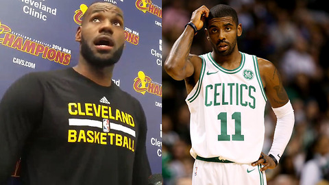LeBron James SNEAK DISSES Kyrie Irving's Skills as a Point Guard