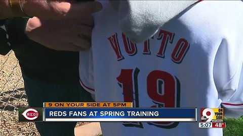 Reds fans get chance to meet, greet their heroes at Spring Training