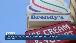 Once-struggling Delray Beach ice cream shop opens second location