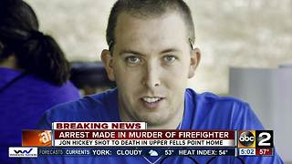 Police arrest suspect involved in the murder of volunteer firefighter - Video