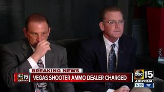 Vegas shooter's ammo dealer charged - Video