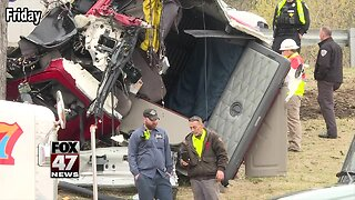 Fareed Cade, a 41-year-old man from Houston, Texas, was driving the semi when he lost control