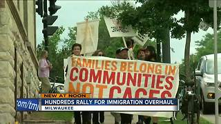 Immigration protests occur all over Milwaukee - Video