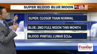 What to expect and when to look for the 'super blue blood moon' in Tampa Bay area - Video