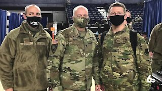 The Idaho National Guard helps with security during the inauguration, returns home Sunday
