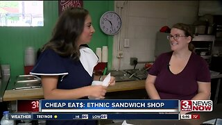 CHEAP EAT$: Ethnic Sandwich Shop
