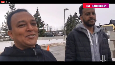 Amazing Interview at the Free Pastor James Coates rally