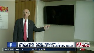 UNO hosts open forums with chancellor candidate