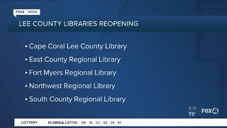 Lee County Libraries will reopen