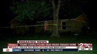 Owasso Police find couple dead inside home - Video