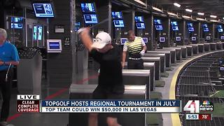 Topgolf hosts regional tournament in July - Video