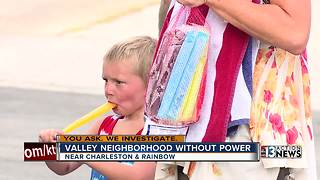 Neighborhood struggles without power for 4 days - Video