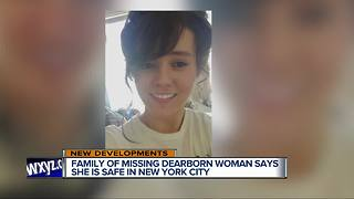 Missing Dearborn woman Rebecca Thornhill located in New York