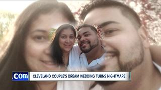 Cleveland couple's dream wedding turns into a nightmare after wedding planner goes bankrupt