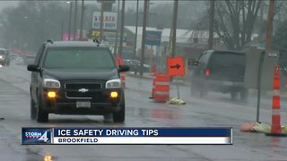 Ice safety driving tips on New Year's Eve