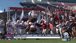Florida Atlantic wins C-USA Championship with convincing win over North Texas - Video