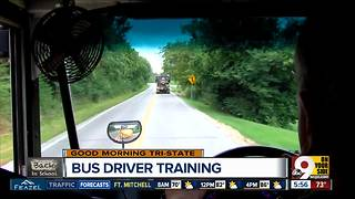 Driving a school bus is a bigger responsibility than you think - Video