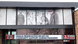 Omaha reservation relies on community support during pandemic