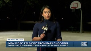 New video released from Chandler park shooting