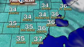 Cold today, milder for Thanksgiving - Video