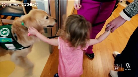 K9 delivers Valentines to young heart transplant recipients