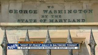 Community hosting 'Night for Peace' to end violence in Baltimore - Video