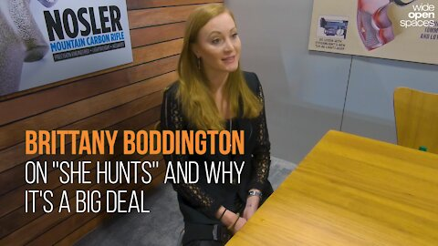"Brittany Boddington Explains the Importance of ""She Hunts"""