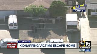 Glendale police investigating kidnapping - Video