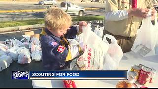 Scouting for Food helps feed the hungry in the Treasure Valley - Video