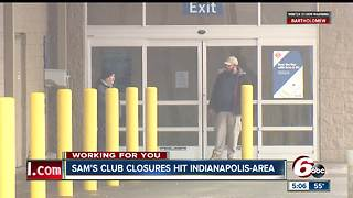 Two Sam's Club locations in Indianapolis are closing on January 26 - Video