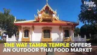 Grab Sunday brunch at a Buddhist temple in Tampa | Taste and See Tampa Bay