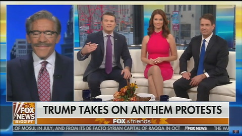 Geraldo Rivera Backs Trump, Sends Direct On-Air Message to NFL Anthem Protesters