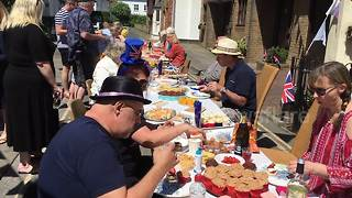Street party kicks off in Whitstable, Kent