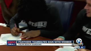 Dwyer Teammates Sign With Webber - Video