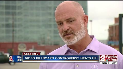 Video billboard controversy heats up