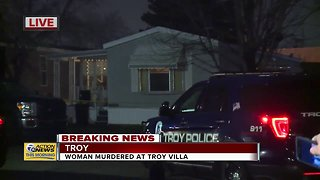 Woman found murdered inside mobile home in Troy on Wednesday night