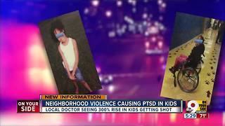 Cincinnati doctor says children suffer from PTSD because of neighborhood violence - Video