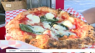 Food Truck Friday: Vesuvius wood fired margherita pizza