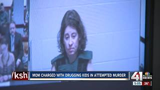 Johnson County mom charged with attempted capital murder - Video
