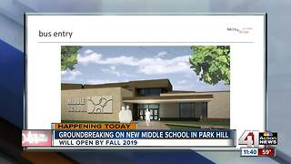 Park Hill breaks ground on new middle school - Video