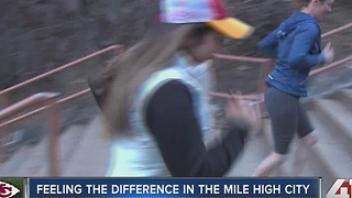 Feeling the difference in the mile high city - Video