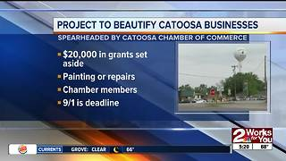 Catoosa Project giving away grant money to local businesses - Video