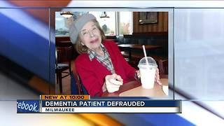 Milwaukee woman with dementia defrauded twice by people close to her