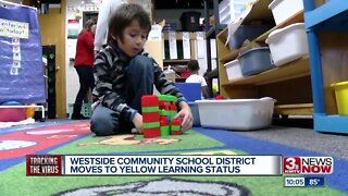 Westside Community Schools moves to yellow learning status