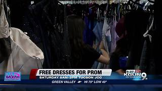Free prom dresses from Cinderella's Closet - Video