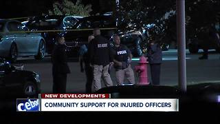 Community support for injured officers