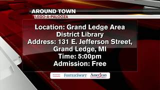 Around Town 3/13/18: LEGO-A-Palooza - Video