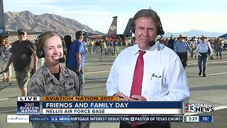 Kids find entertainment at Aviation Nation - Video