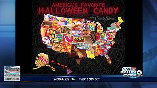 Snickers is Arizona's favorite Halloween candy - Video