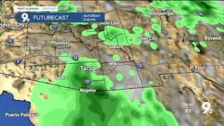 A better chance of rain arrives for the weekend